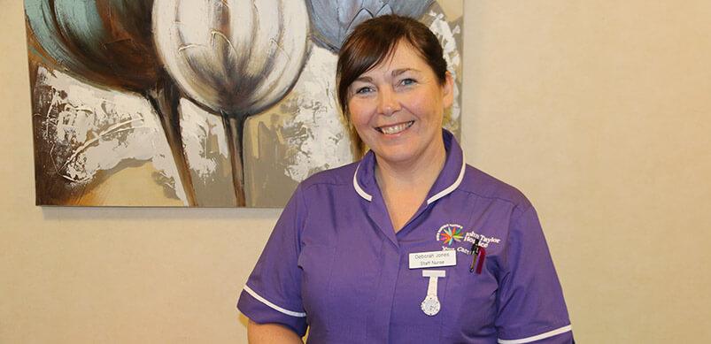 Staff Nurse Deb Jones