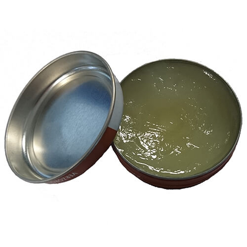 Vaseline Tin With Lid