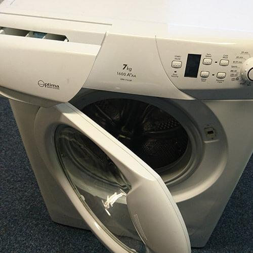 Washing Machine Door And Drawer Open
