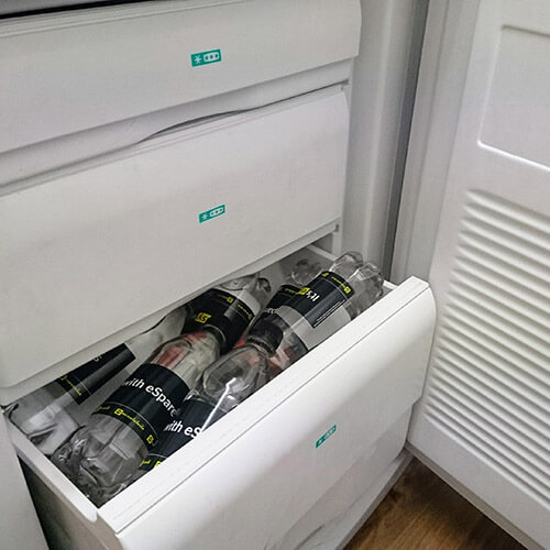 Water Bottles In Freezer
