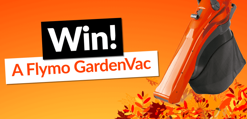 Win a Flymo 4 in 1 GardenVac
