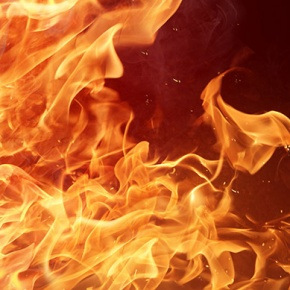 Close Up Of Fire