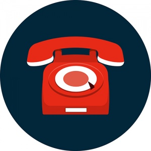 Graphic Of Red Phone