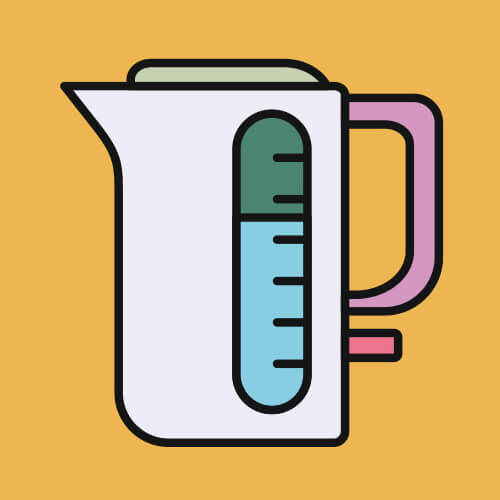 Simple Graphic Of Kettle