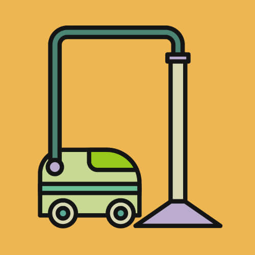 Simple Graphic Of Vacuum Cleaner