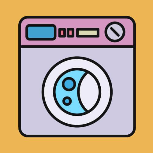 Simple Graphic Of Washing Machine
