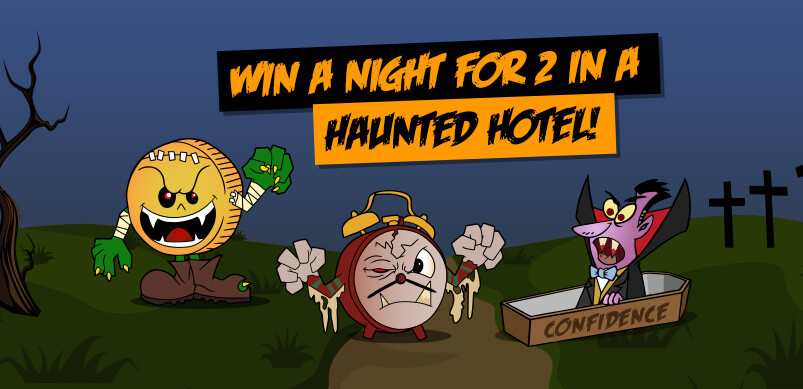 Win a night for 2 in a haunted hotel!