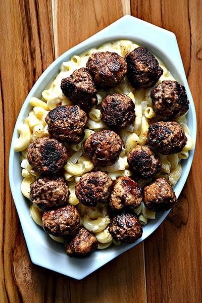 Meatball Sub Macaroni and Cheese