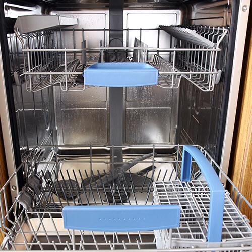 Open Dishwasher Empty In Kitchen