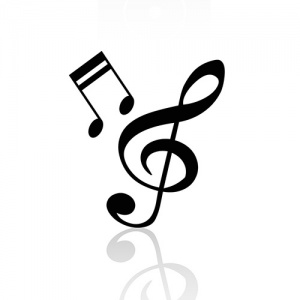 Black And White Music Symbols