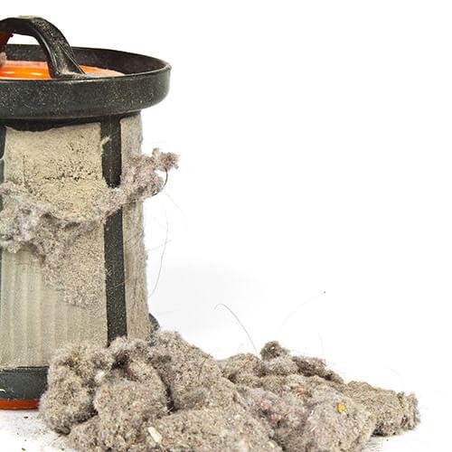 Vacuum Filter Full Of Dust