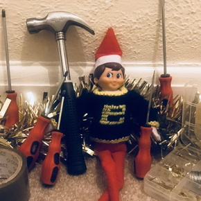 Buddy The Elf Net To Tool Box And Tools