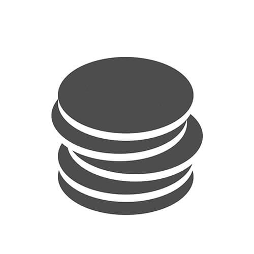 Pile Of Coins Symbol