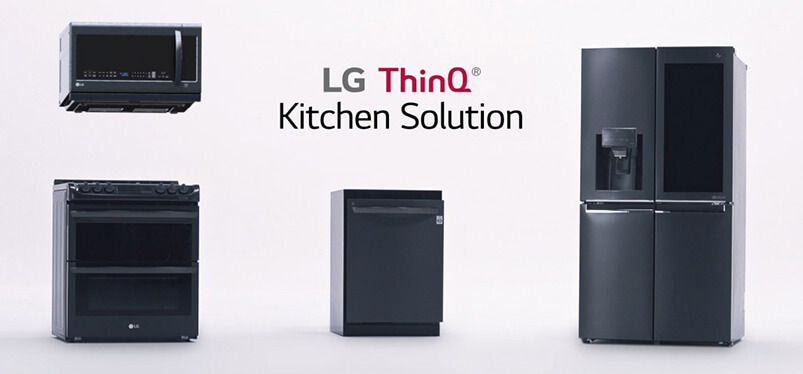 LG ThinQ Kitchen Solution Appliances