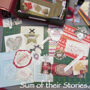 Christmas Cards Cut Out For Tags