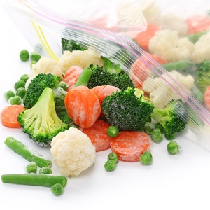 Mixed Vegetables In Sealed Bag