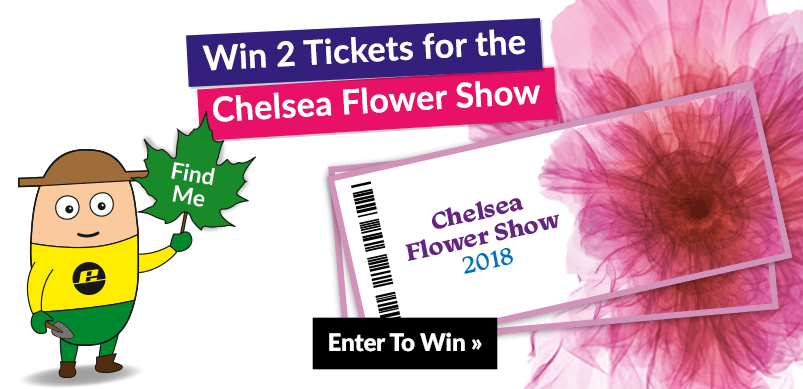 Banner for Chelsea Flower Show Competition