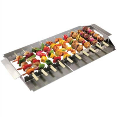 BBQ Skewer Sticks And Rack