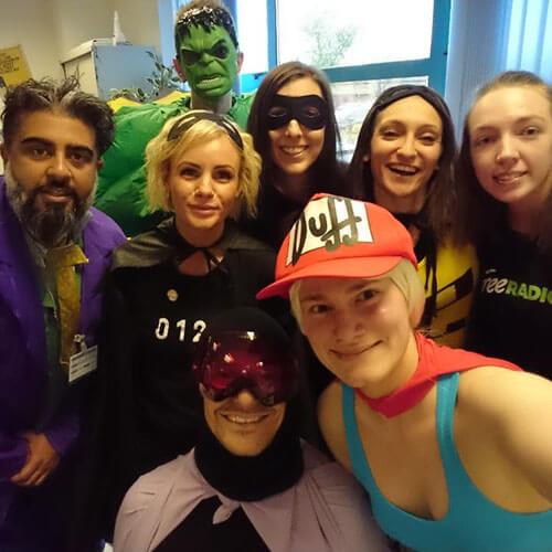 Selfie With Free Radio Team