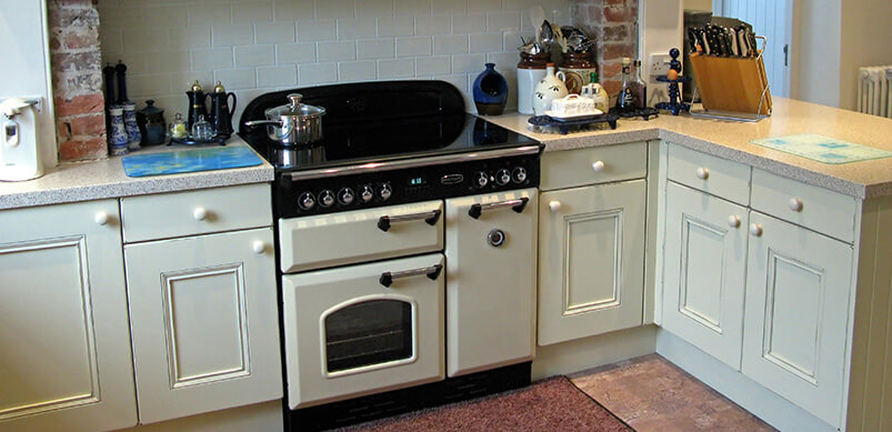 Vintage Oven With Separate Grill
