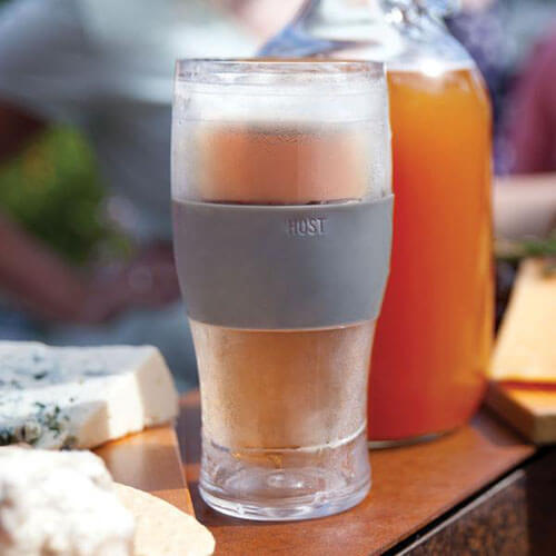 Beer Glass With Glass Shaped Cold Cover