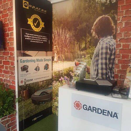 Gardena Stand At Chelsea Flower Show