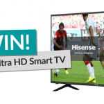 Win a 43 Inch Hisense Smart TV! [Competition Closed]