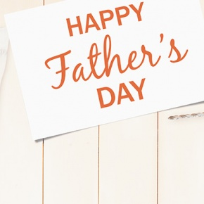 Father's Day Sign Surrounded By Tools