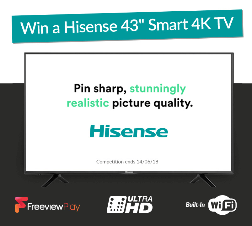 Competition Poster For Hisense TV