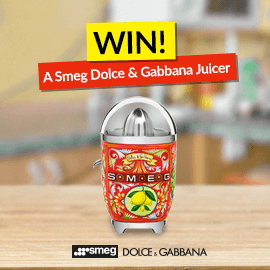 Win a Smeg Dolce and Gabbana Juicer! [Competition Closed]
