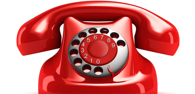 Traditional Red Telephone