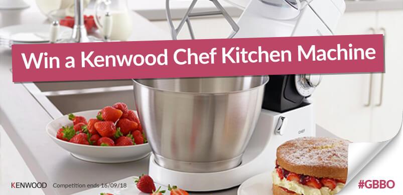Kenwood Chef Kitchen Machine With Win Banner