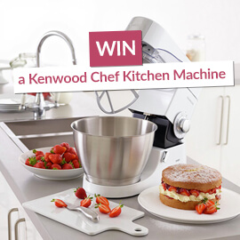Win a Kenwood Chef Kitchen Machine! [Competition Closed]