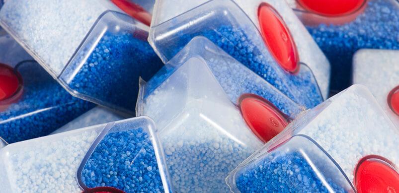 Pile Of Dishwasher Tablets