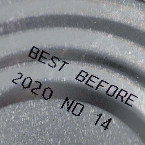 Best Before Date On Canned Food