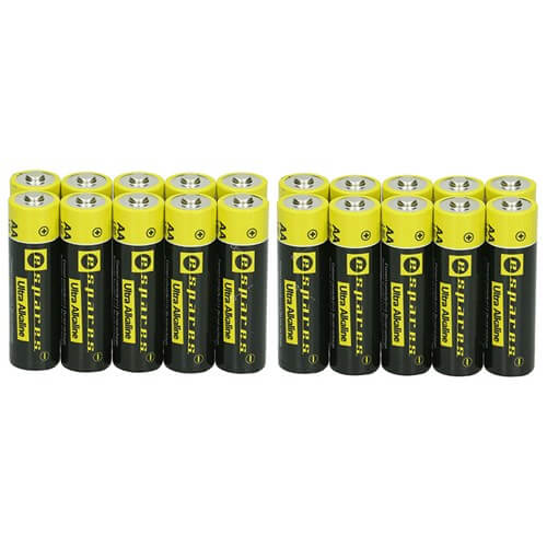 Pack Of Twenty Espares Batteries