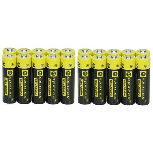 Pack Of Twenty Espares Batteries