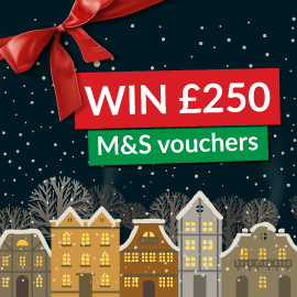 Win £250 Worth Of M&S Vouchers!