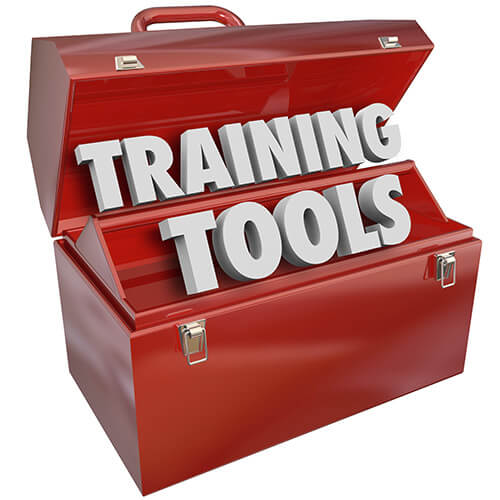 Open Red Toolbox Containing words Training Tools