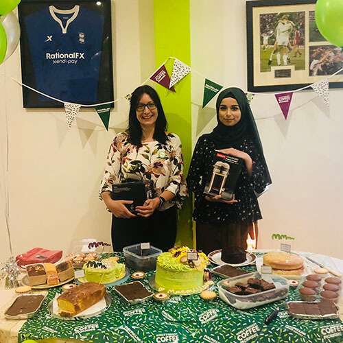 Macmillan Bake Sale With Winners