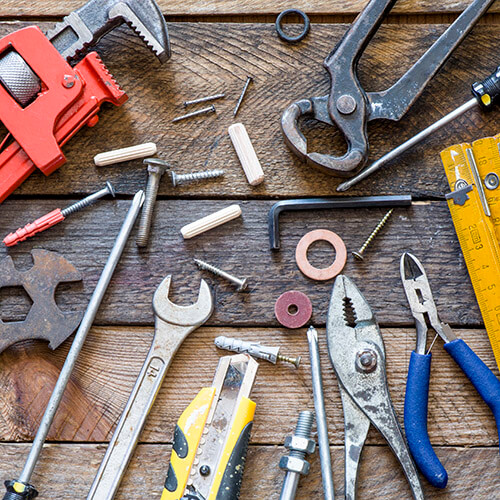 Selection Of DIY Tools