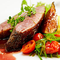 Expensive Looking Duck Fillet Meal