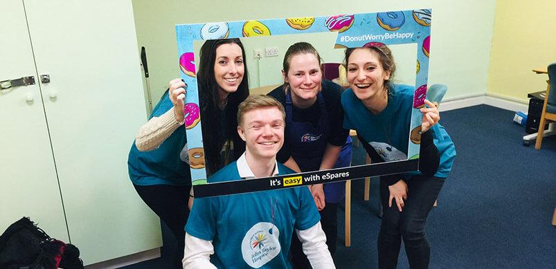 Espares Team With Donut Frame
