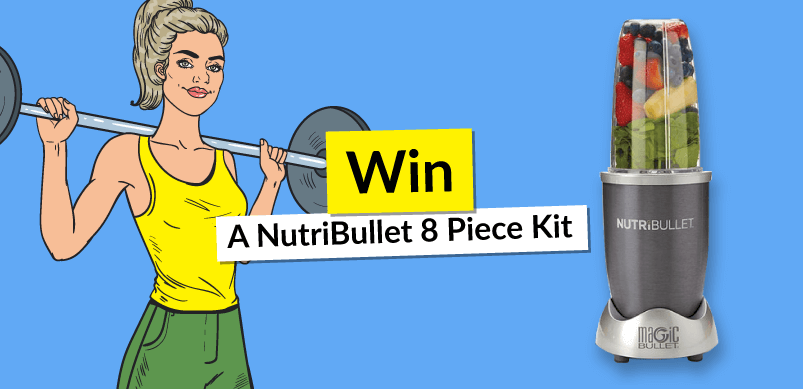 Competition Banner With Image Of NutriBullet