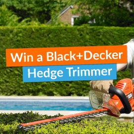 Win a Black + Decker Hedge Trimmer! [Competition Closed]