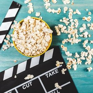 Film Set Prop With Popcorn