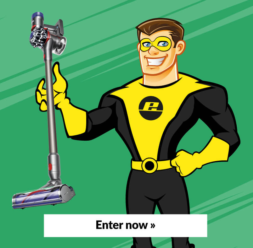 Espares Hero Holding Dyson Vacuum
