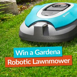 Win a GARDENA Robotic Lawnmower!