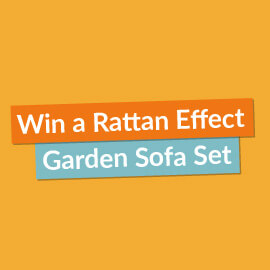 Win a Rattan Effect Garden Sofa Set! [Competition Closed]