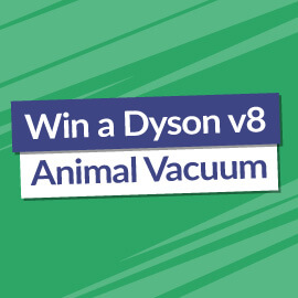 Win a Dyson V8 Animal Vacuum Cleaner! [Competition Closed]